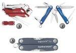 LEATHERMAN BLUE SQUIRT S4 POCKET KNIFE