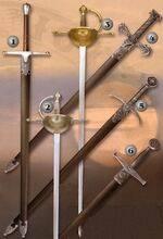 Espada William Wallace, espada Barbarian, espada Robin Hood, espada Excalibur