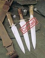 MUELA KNIFE BEAR-24S, KNIFE URSUS 25M AND KNIFE URSUS 25A