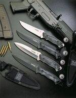 COMBAT MUELA KNIVES STORM AND HORNET