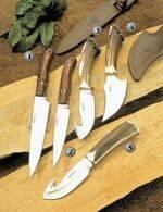 CRIOLLO-17 KNIFE, CRIOLLO-14 KNIFE, VIPER-11S KNIFE, SABUESO-11S KNIFE AND VIPER-11A KNIFE
