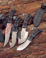 BISONTE-11G KNIFE, GRIZZLY-12G KNIFE AND SIOUX-10G KNIFE