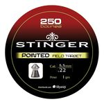 STINGER plomo 5.5 (250) POINTED. Field Target