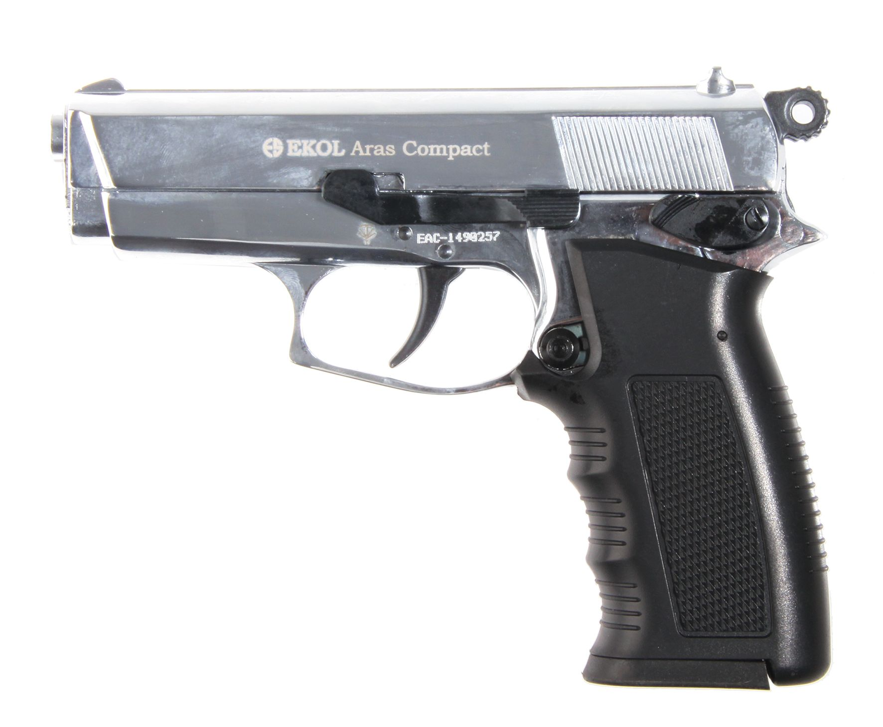 EKOL ARAS COMPACT 9MM CROMO BRILLO