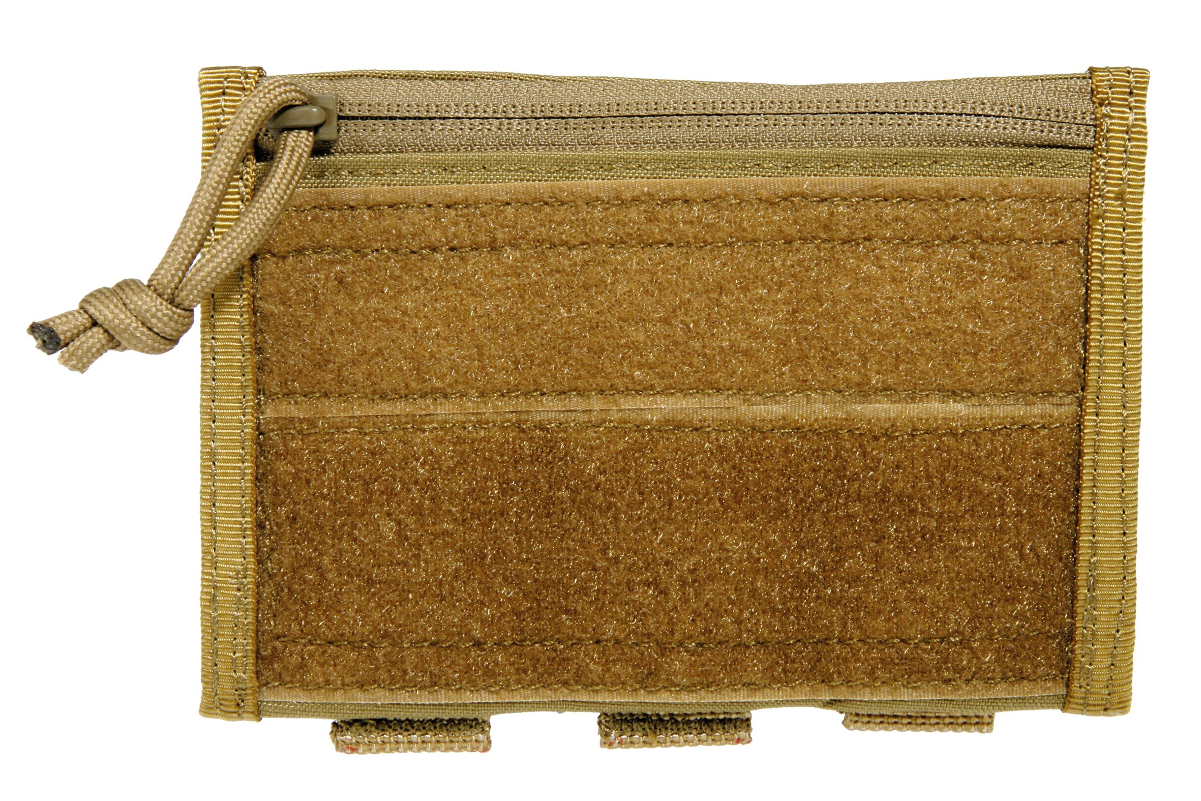 GERONIMO ULTRALITE DOCUMENTS POUCH WITH VELCRO TAN