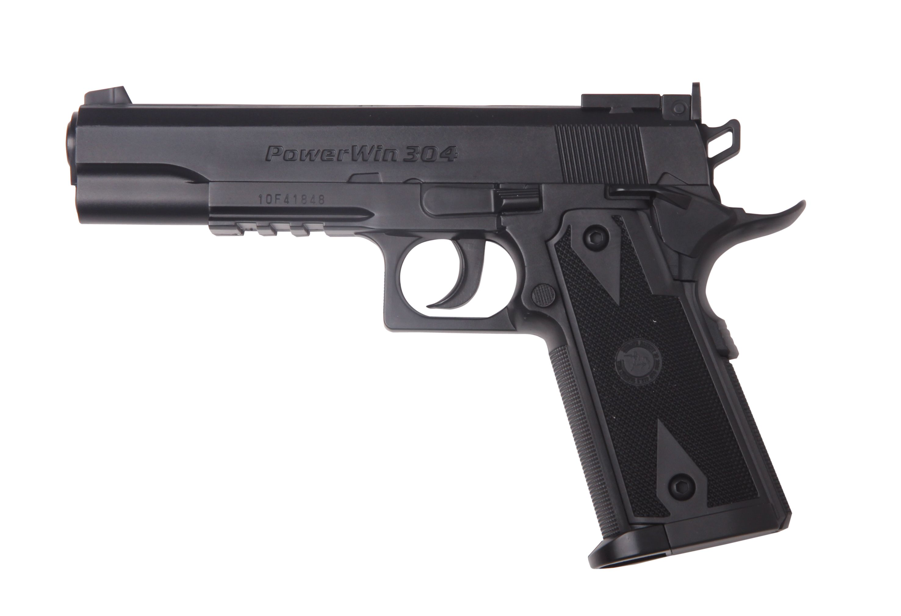 PISTOLA 1911 CO2 NEGRA cal.: 4.5 mm.