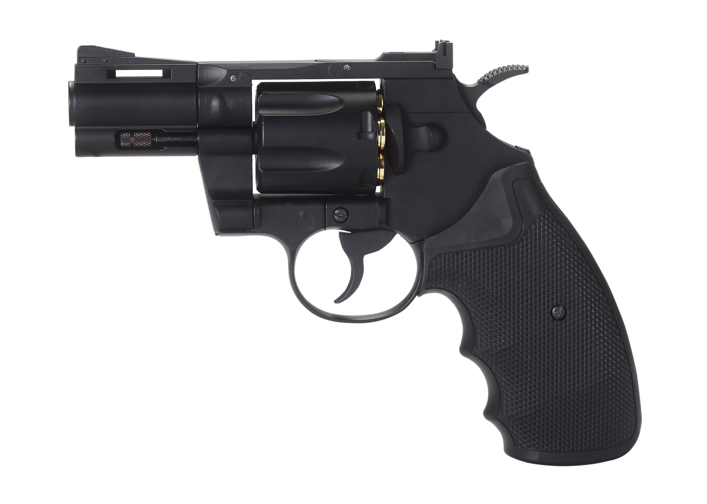 "REVOLVER FULL METAL CO2 4.5 2,5"" KM-66DN"