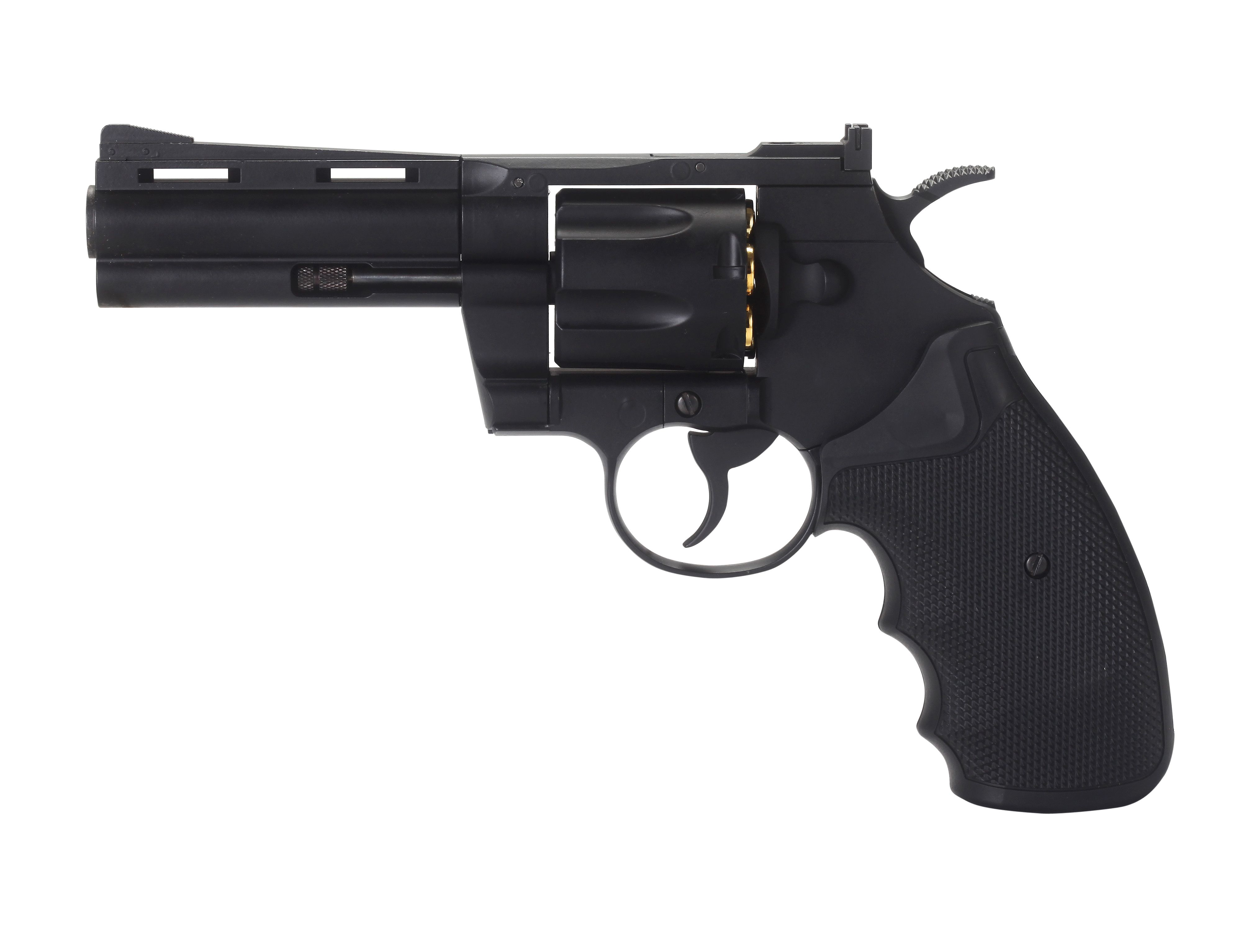 "REVOLVER FULL METAL CO2 4.5 4""KM-67DN"