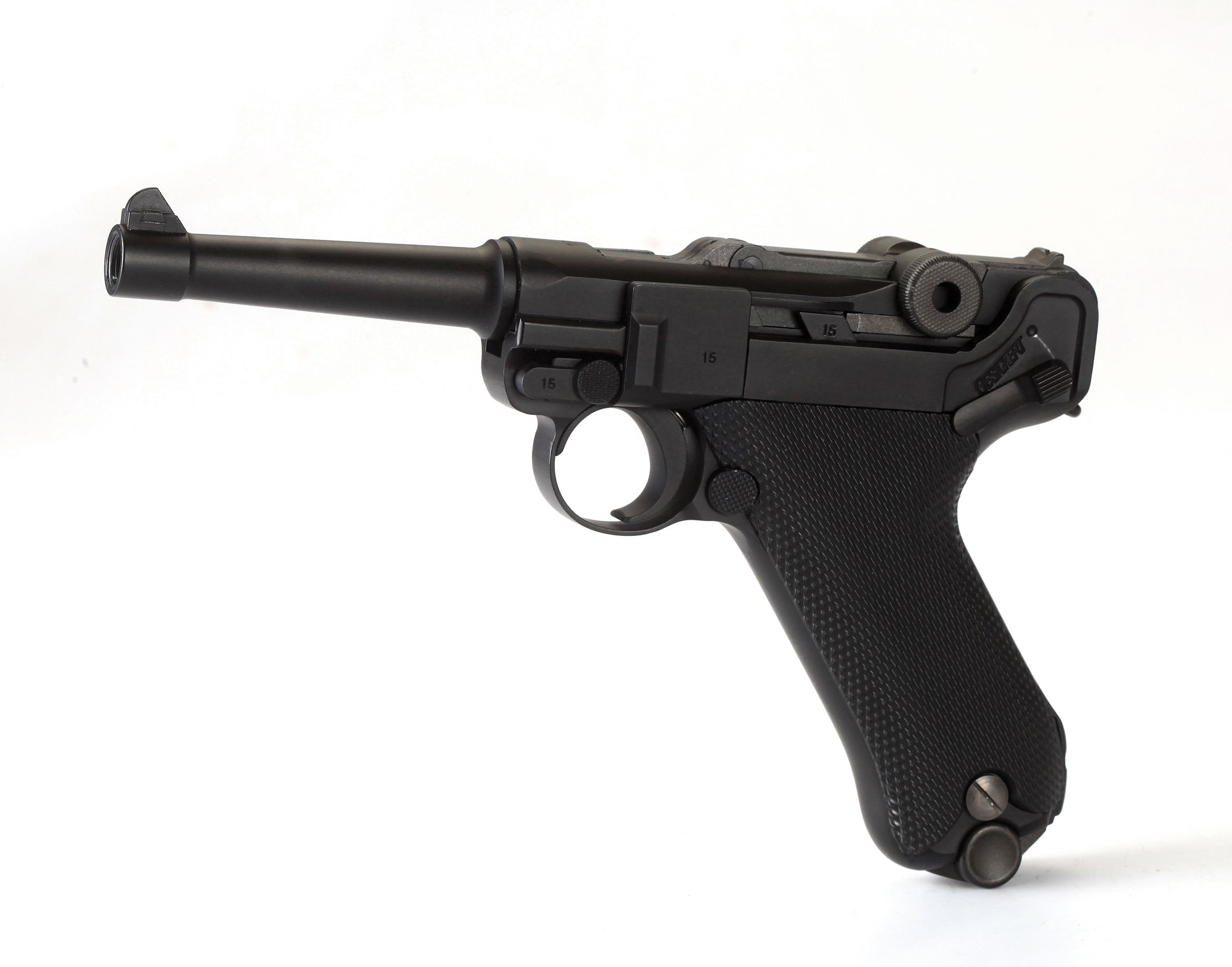 Pistola P08 BLOW BACK CO2 4.5 FULL METAL KMB-41DHN