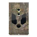 Steel safe for 38 leds cameras, camo color