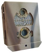 Steel safe for 62 leds cameras