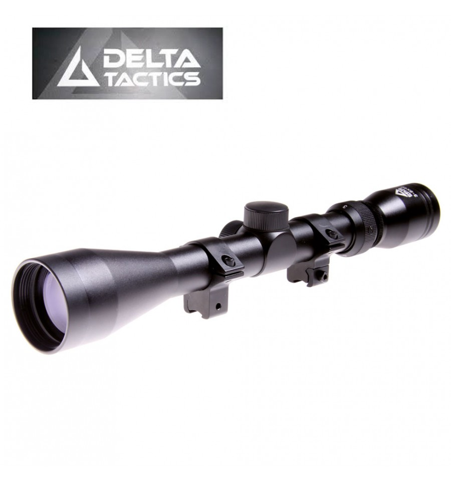 "VISOR 3-9X40 TUBO 1"" RAIL 10-12MM DELTA TACTICS"