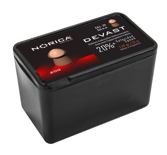 DEVAST 400 NORICA PELLETS 4,5 MM