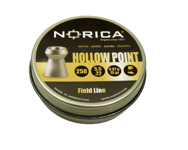HOLLOW POINT 250 BALINES NORICA 5,5 MM