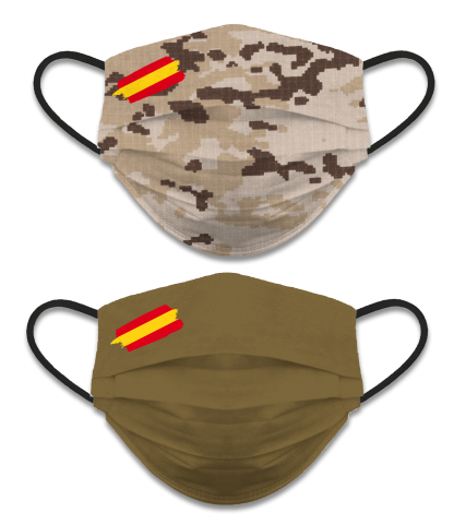 REVERSIBLE FACE MASK, CAMO DESERT