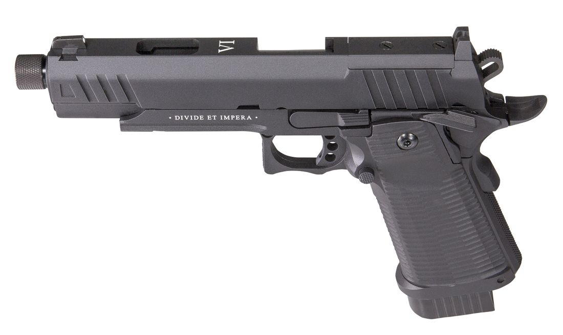 Pistola Co2 Blow Back Ludus Vi Black Secutor Arms