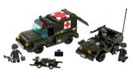Ambulance With Convoy 229 Pcs Sluban