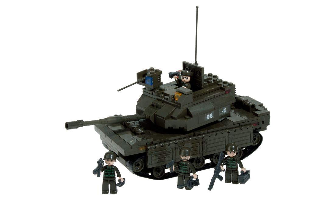 Heavy Tank 312 Pcs Sluban