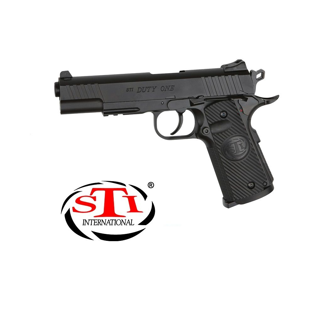 Pistola STI® DUTY ONE Blowback - 4,5 mm Co2 Bbs Acero
