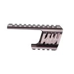 CNC rail mount for Dan Wesson 715 steel gray color