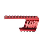CNC rail mount for Dan Wesson 715 red color