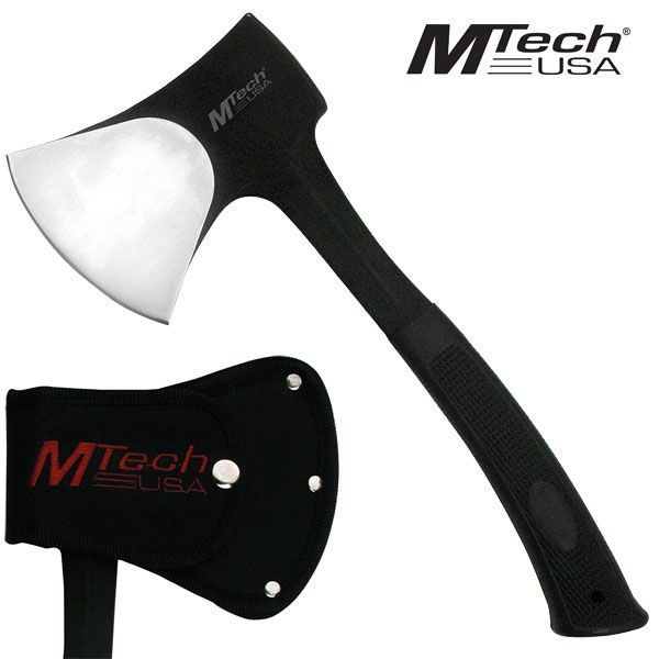 Hacha MTech 11&quote; acero inoxidable