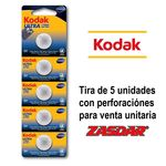 Kodak Ultra CR2025 battery pack (pack of 5 blister pack)