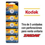 Battery button Kodak Ultra CR2032 (pack 5 units blister)