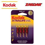 Alkaline battery Kodak Xtralife AAA LR3 - Pack 4 pcs.