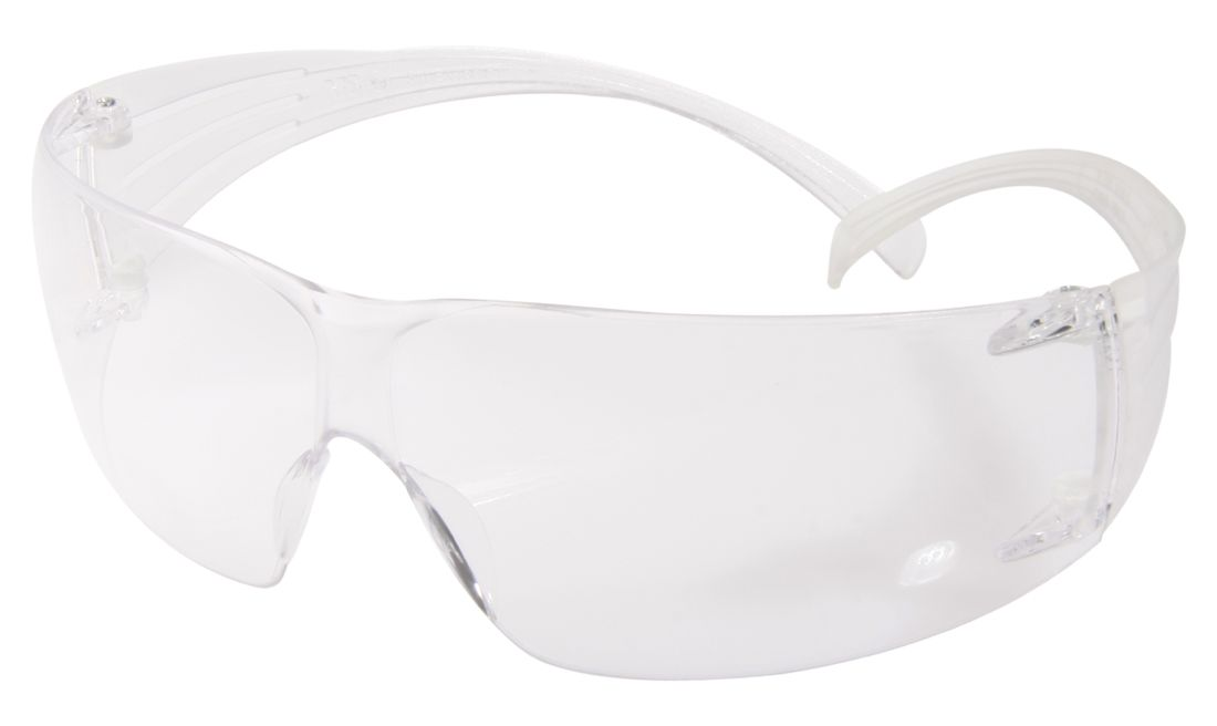 3M CLEAR PC SECURE FIT GOGGLES