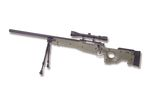 WELL (MB01C) OLIVE GREEN L96 w/ SCOPE BIPOD AIRSOFT SPRING RIFLE