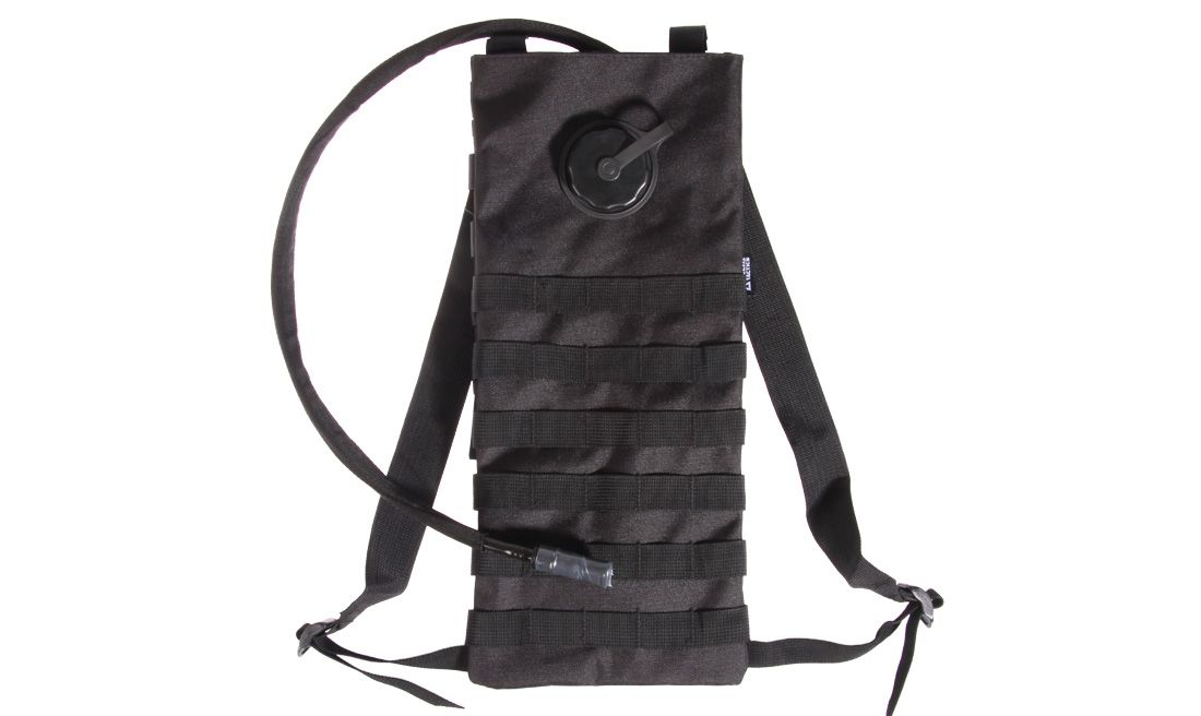 DELTA TACTICS BLACK CAMELBAK WITH WATERBAG