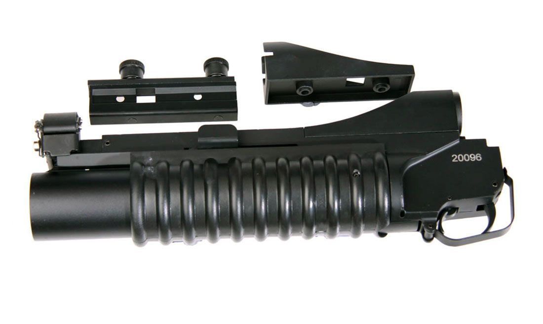 LANZA GRANADAS CORTO M203 40MM METAL DBOYS