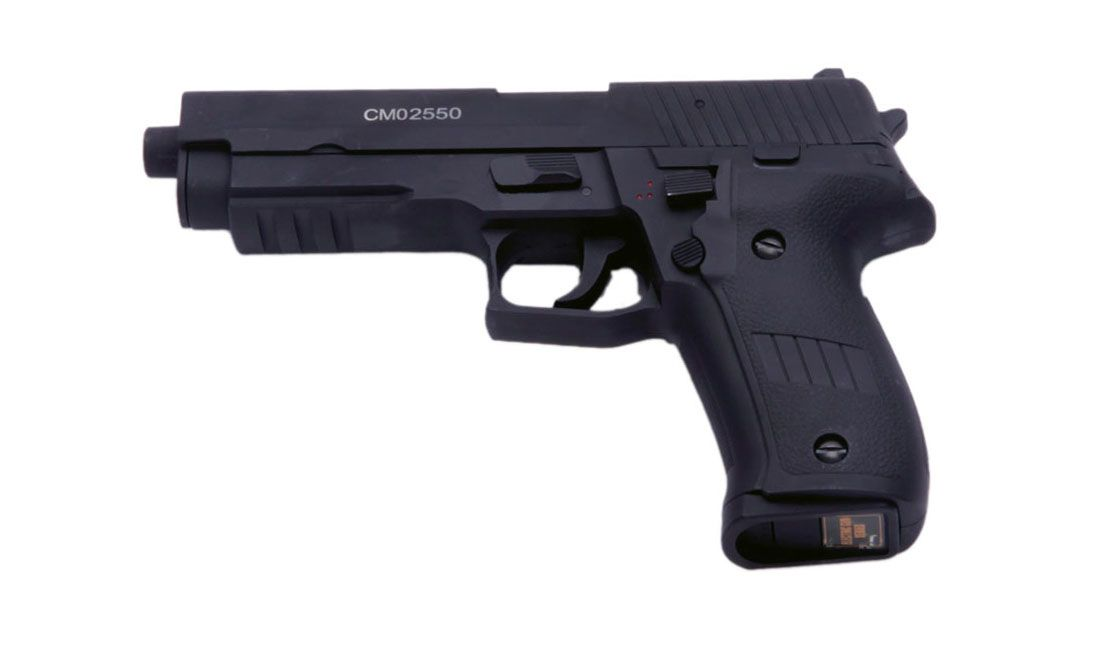 Airsoft guns, electric, co2, gas and spring