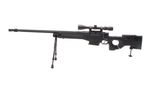WELL (G96) FOLDING STOCK AW330 w/ SCOPE BIPOD GAS RIFLE