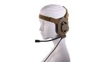 ELEMENT Z 027 TAN BOWMAN TYPE HEADSET w/o PTT