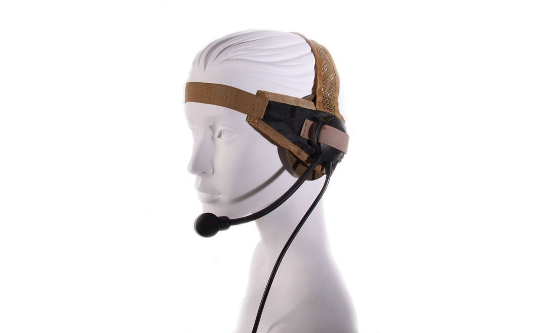 ELEMENT Z 028 TAN SELEX TYPE HEADSET w/o PPT