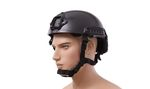 BLACK FED HELMET