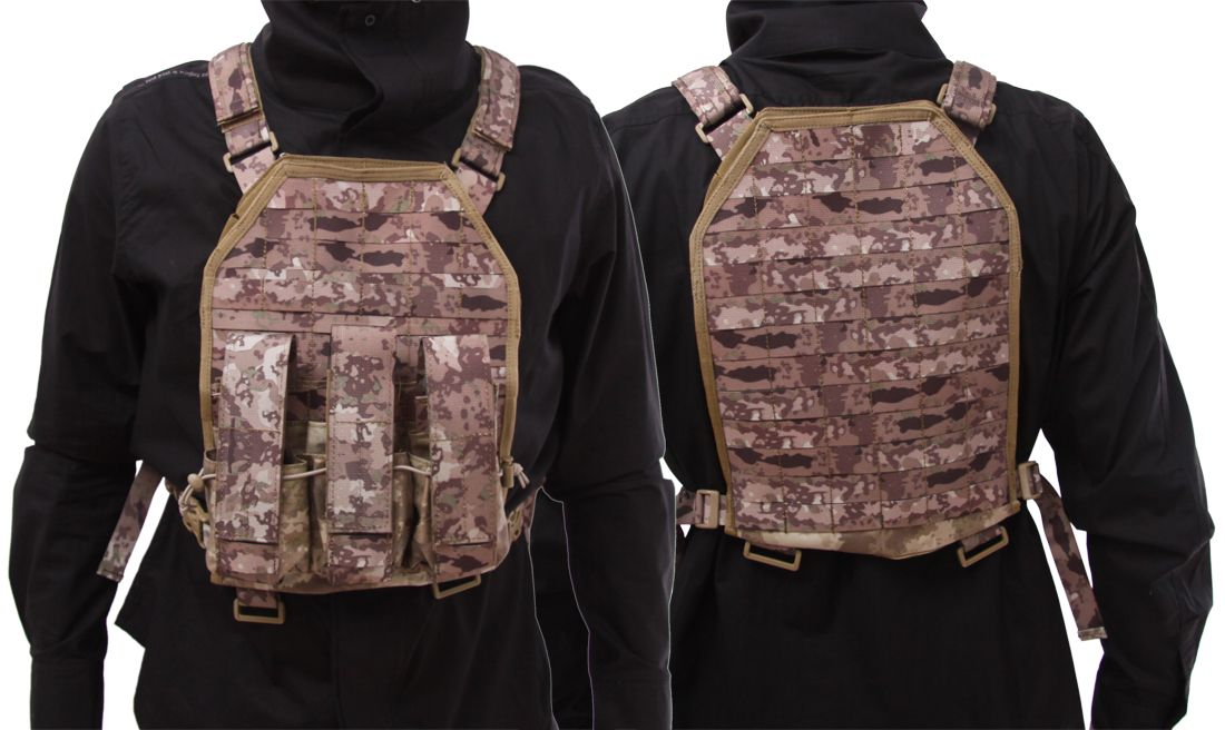 EMERSON ATKS PLATE CARRIER