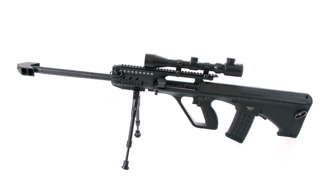 JG (0446A) AU-5G AIRSOFT AEG RIFLE