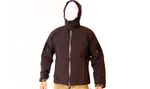 SOFT SHELL IMPERMEABLE Y CORTAVIENTO NEGRO EMERSON XL