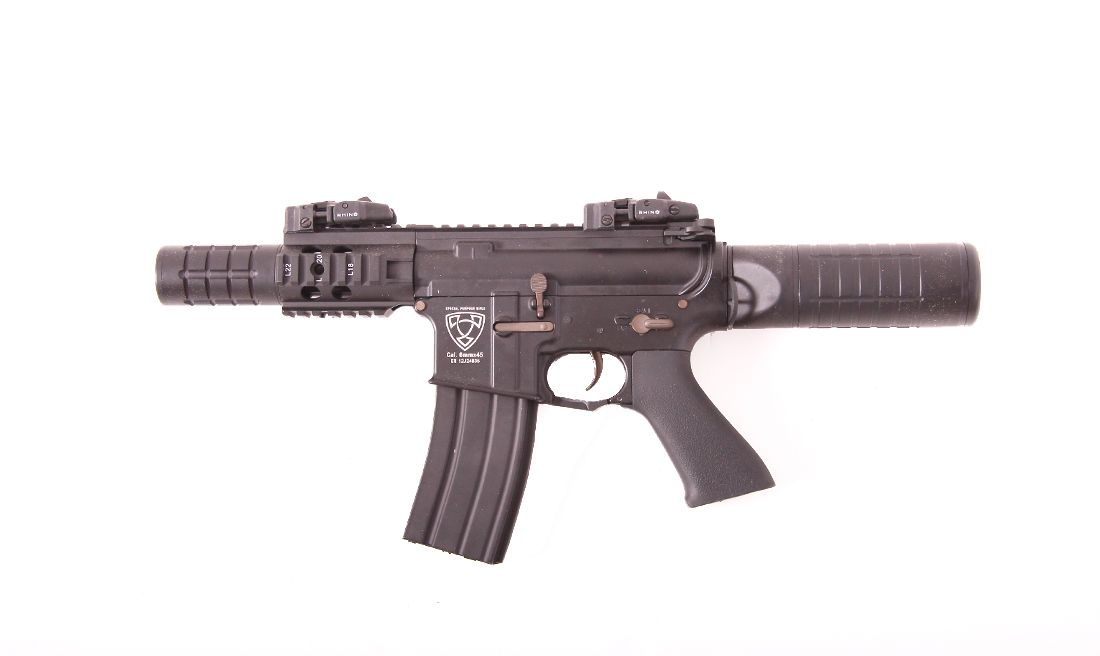 MINI PATRIOT BLOW BACK APS AIRSOFT AEG RIFLE