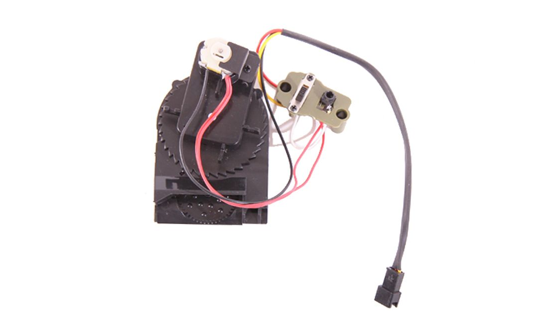 SPARE GEAR, MOTOR AND SWITCH FOR ELECTRIC MAGAZINE