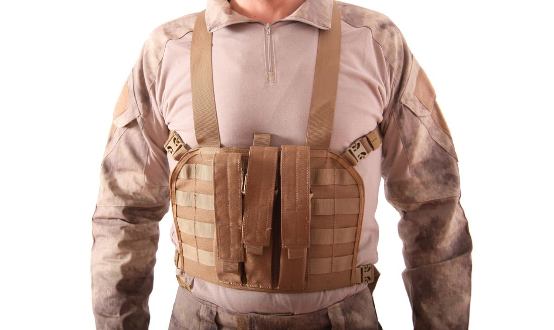 CHALECO CHEST RIG MP7 MULTICAM EMERSON