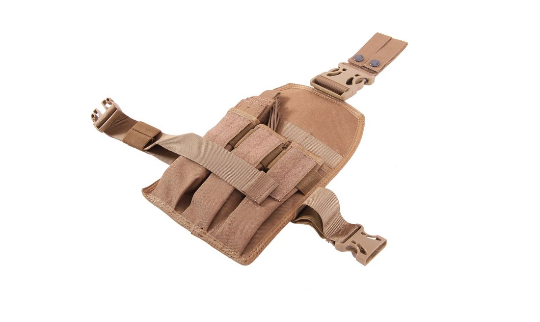 PORTA CARGADOR TRIPLE MP7 TAN