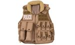 SWAT TACTICAL VEST TAN DELTA TACTICS V15