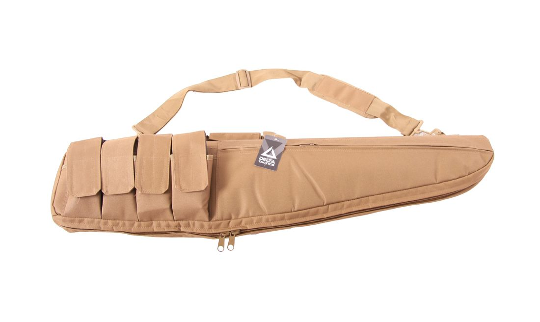 FUNDA TRANSPORTE RIFLE EDGE 100CM TAN DELTA TACTICS