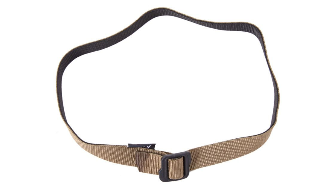 REVERSIBLE BELT 125CM BLACK-TAN DELTA TACTICS