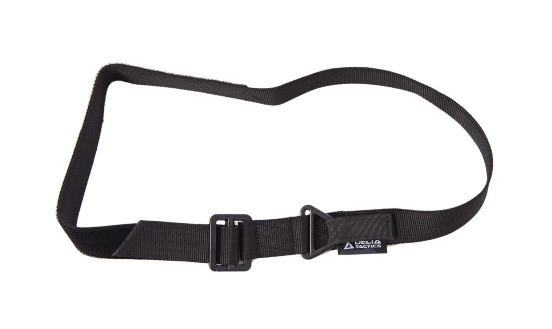 DOUBLE BUCKLE RESCUE BELT 125CM BLACK DELTA TACTICS