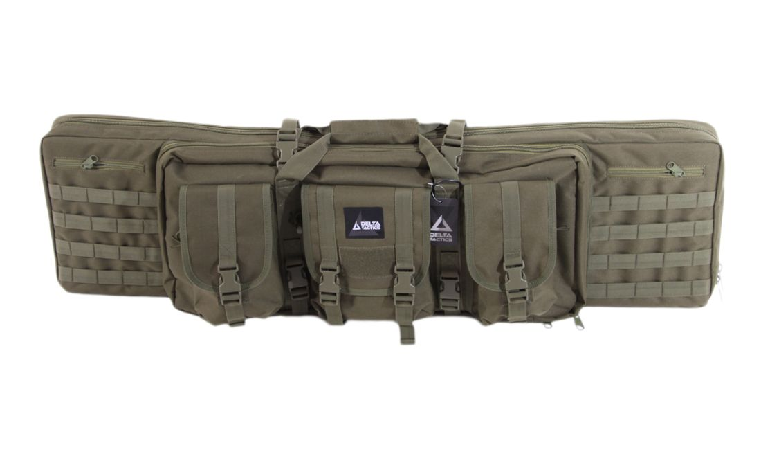 FUNDA TRANSPORTE DOBLE RIFLE 107CM OD DELTA TACTICS